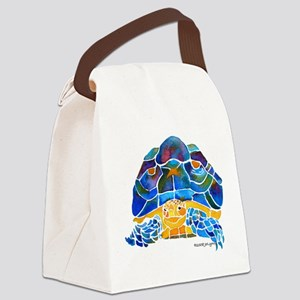 Tortoise4Cafe Canvas Lunch Bag