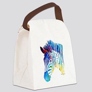 ZebraWhimz2BCZ Canvas Lunch Bag