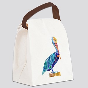 Pelican4Cafe Canvas Lunch Bag