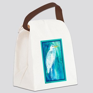 2-HeronGBCafeZ Canvas Lunch Bag