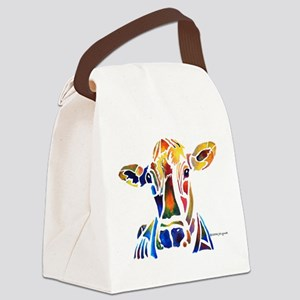 cow4Cafe Canvas Lunch Bag