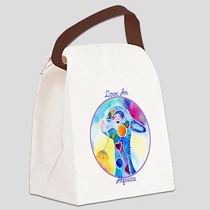 AlpacaCryaZ Canvas Lunch Bag
