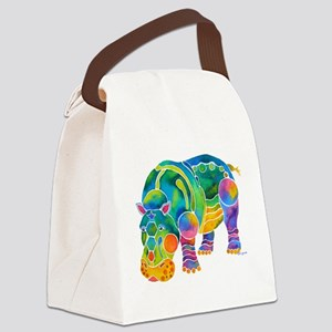 Hippo4DksZ Canvas Lunch Bag