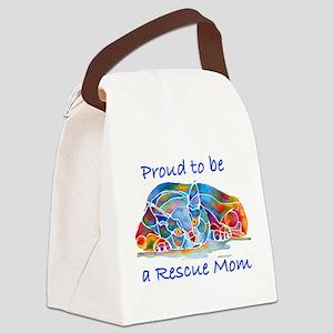 Proud2Becat Canvas Lunch Bag