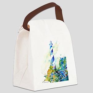HatterasCafe Canvas Lunch Bag