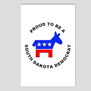 South Dakota Democrat Pride Postcards (Package of