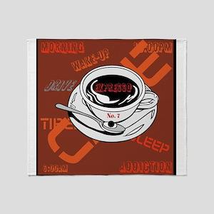 OYOOS Coffee Cup design Throw Blanket