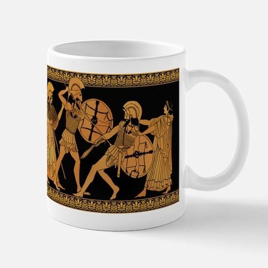 Achilles Slaying Hector Mug
