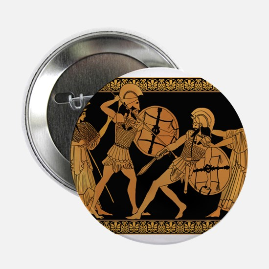 "Achilles Slaying Hector 2.25"" Button"