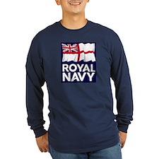 Royal Navy Long Sleeve Dark T-Shirt