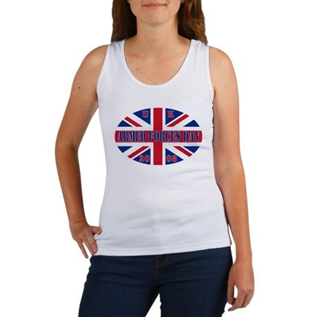 Union Jack AF Day Women's Tank Top