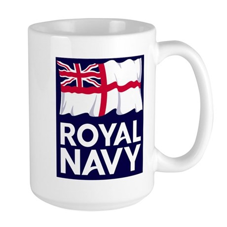 Royal Navy 15 oz Ceramic Large Mug