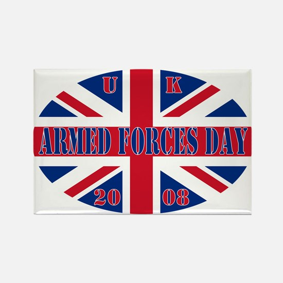 Union Jack AF Day Rectangle Magnet