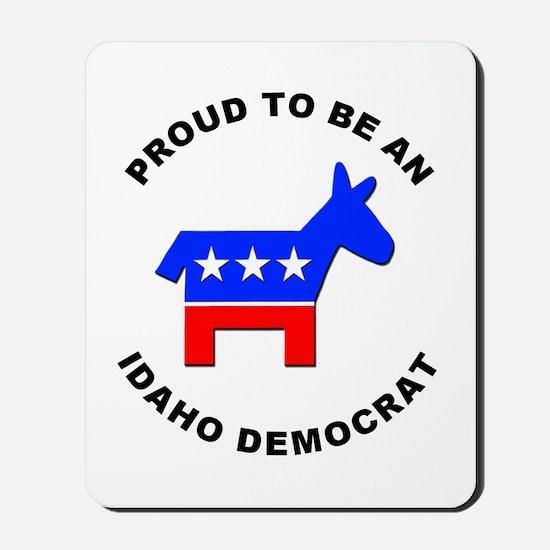 Idaho Democrat Pride Mousepad