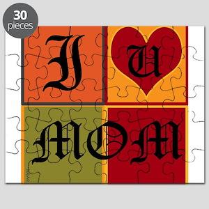 OYOOS I Love Mom design Puzzle