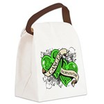 Non-Hodgkin Survivor Canvas Lunch Bag