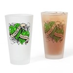 Non-Hodgkin Survivor Drinking Glass