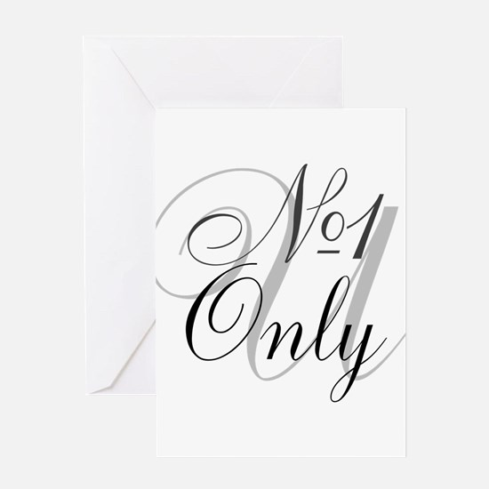 OYOOS No1 Only design Greeting Card