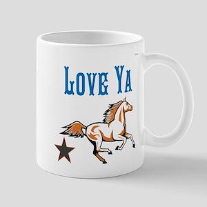 OYOOS Horse Love Ya design Mug