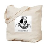 Naked Villainy Tote Bag