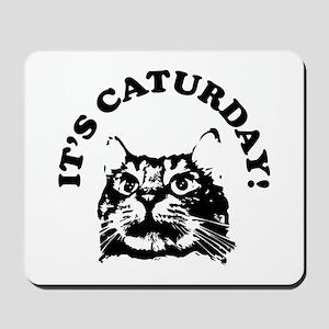 It's Caturday! Mousepad