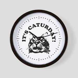 It's Caturday! Wall Clock