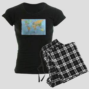 the small world Women's Dark Pajamas
