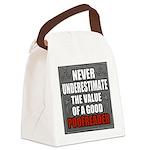 Poofreader Canvas Lunch Bag