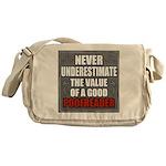 Poofreader Messenger Bag