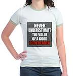 Poofreader Jr. Ringer T-Shirt