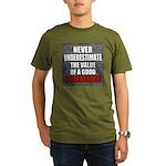 Poofreader Organic Men's T-Shirt (dark)