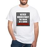 Poofreader White T-Shirt
