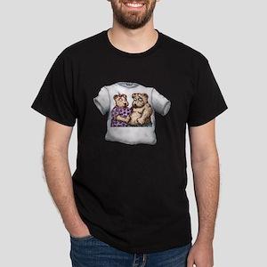 Moleet and Lulu Bear Dark T-Shirt