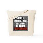 Poofreader Tote Bag