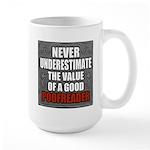 Poofreader Large Mug
