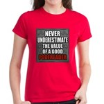 Poofreader Women's Dark T-Shirt