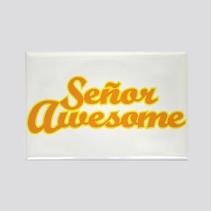 Señor Awesome Rectangle Magnet