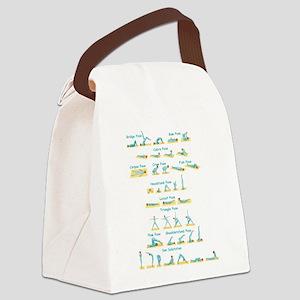 YogaTrans Canvas Lunch Bag
