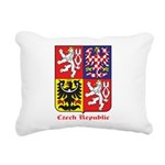 Czech Republic Rectangular Canvas Pillow