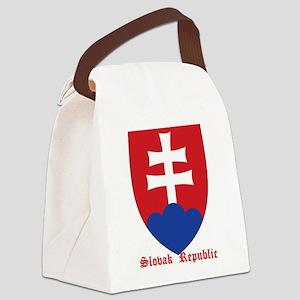 Slovak Republic Canvas Lunch Bag