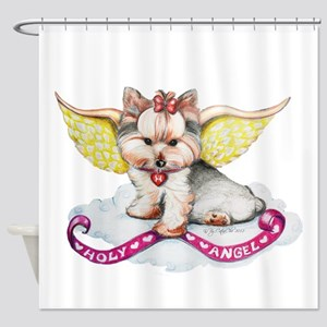 Holly Angel Holly Shower Curtain
