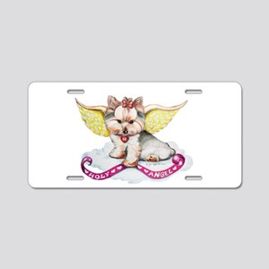 Holly Angel Holly Aluminum License Plate