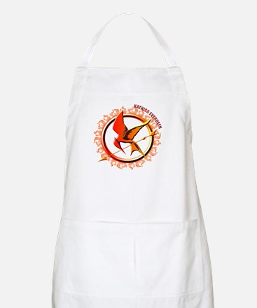 Katniss Everdeen the Girl Who Was on Fire Apron