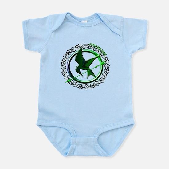 Team Peeta Mellark from The Hunger Games Infant Bo