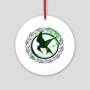 Team Peeta Mellark from The Hunger Games Ornament