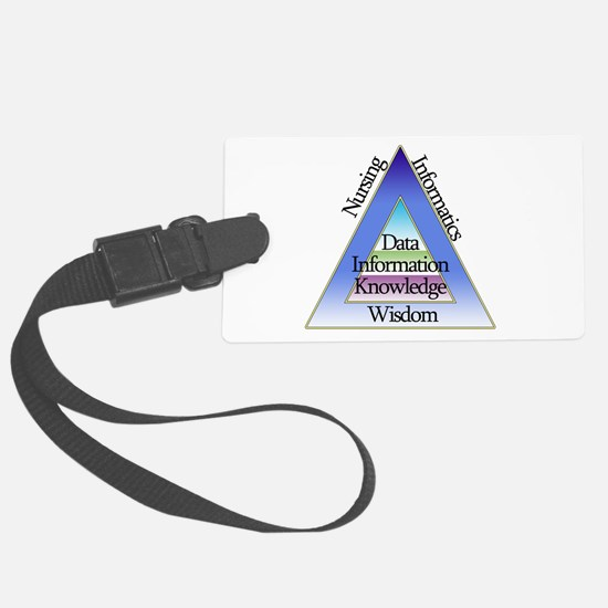 Data Triad Luggage Tag