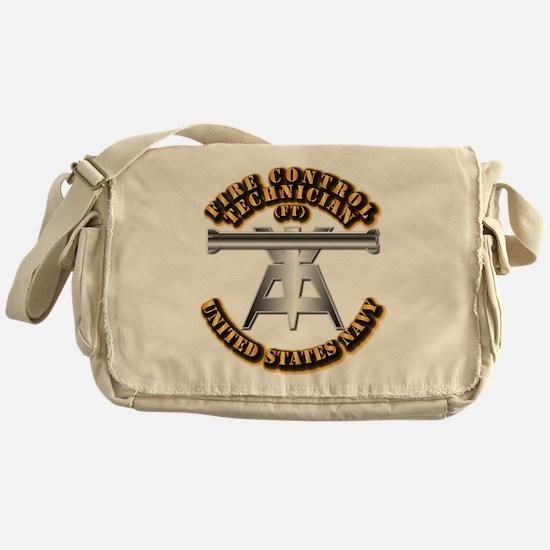 Navy - Rate - FT Messenger Bag