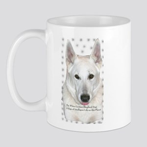 White German Shepherd Dog - A Mug