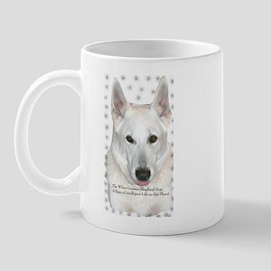 White German Shepherd Dog - A Mug