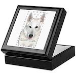 White German Shepherd Dog - A Keepsake Box